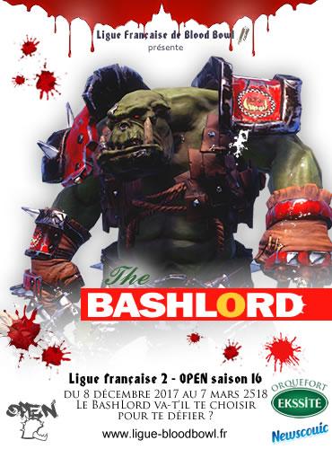 Participez à OPEN 16 de la Ligue française de Blood Bowl