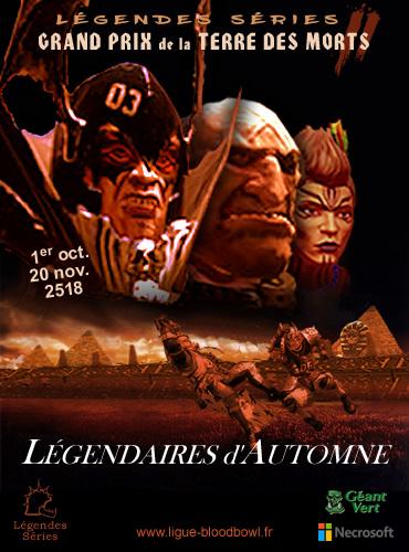 Participez au Grand Prix de la Terre des Morts - les Légendes Séries en mode résurrection
