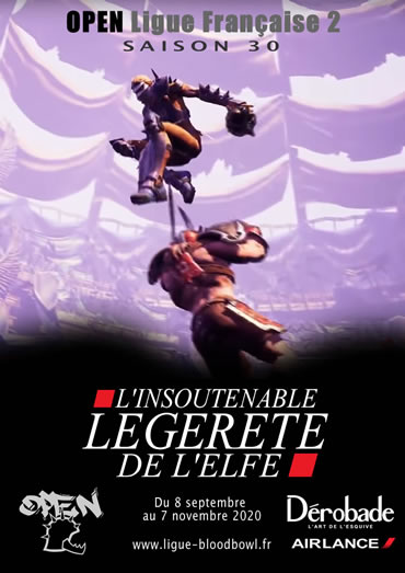 Participez à OPEN Saison 31 de la Ligue française de Blood Bowl