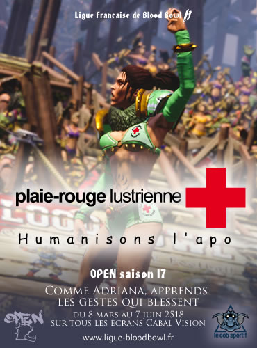 Participez à OPEN 17 de la Ligue française de Blood Bowl