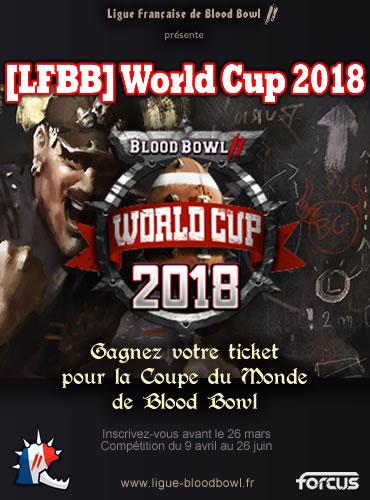Gagnez votre ticket pour la World Cuo 2018 de Blood Bowl 2