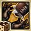 Réception (Agilité) : Le joueur a le droit de relancer le D6 quand il manque la Réception du ballon. La compétence RECEPTION l'autorise aussi à relancer le D6 s'il lâche un ballon qui lui a été transmis ou rate une Interception.