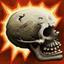 Crâne épais (Force) : Le joueur considère tout jet de 8 sur le Plateau des Blessures, après que tous les modificateurs aient été appliqués, comme un Sonné au lieu d'un K.O. Utilisable même si le joueur est A terre ou Sonné.
